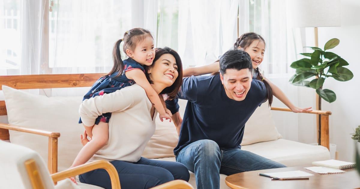 ครอบครัวมีความสุข