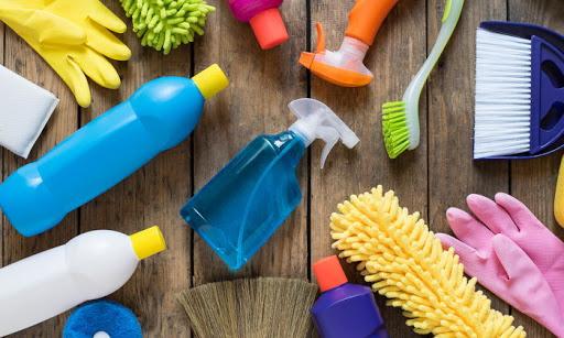 ทำความสะอาดและฆ่าเชื้ออุปกรณ์ทำความสะอาด