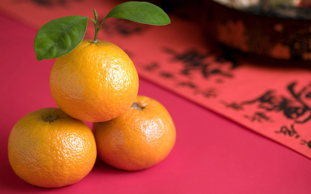 ส้มจี๊ด เสริมความมั่งคั่ง